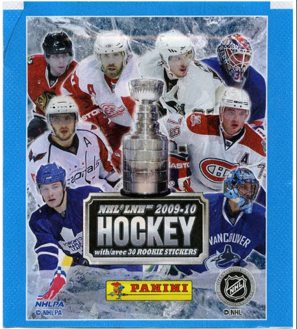2009-2010 Panini NHL Hockey Sticker Collection 20 Sticker Packets -Sealed