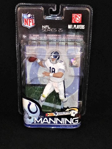 2010 Peyton Manning McFarlane NFL Series 25 Indianapolis Colts Action Figure NEW