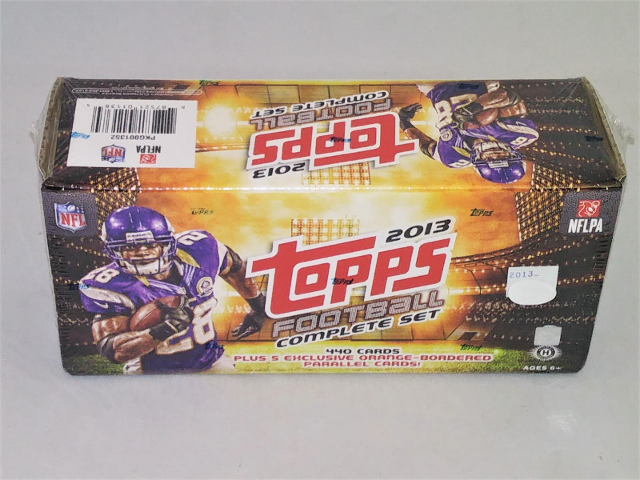 2013 Topps Hobby Football Factory Set Sealed Complete 440 Cards & 5 Exclusive