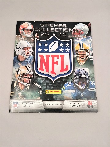 2014 Panini NFL Football 72 Page Sticker Collection Album