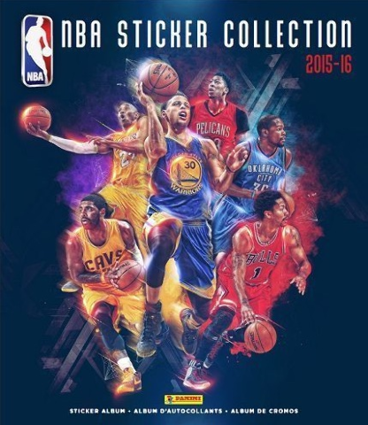 2015/16 Panini NBA 72 Page Sticker Album