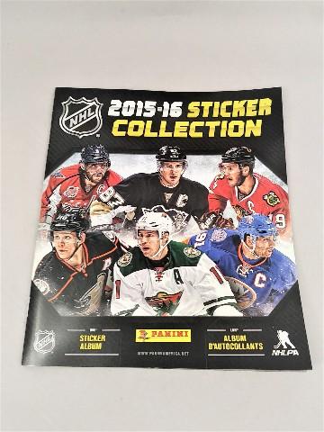 2015-2016 Panini NHL Hockey 72 Page Sticker Collection Album