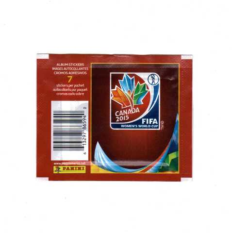 2015 Panini FIFA Woman's World Cup Soccer Stickers 10 Packs (Futbal) Canada