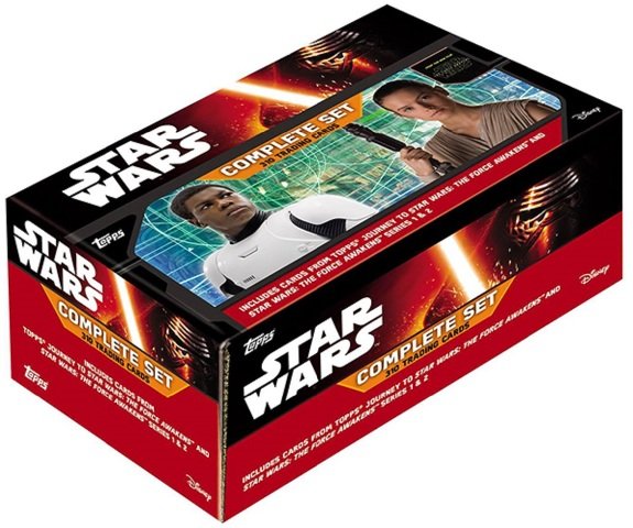 2016 Topps Star Wars The Force Awakens Limited Edition Factory SET (Sealed)