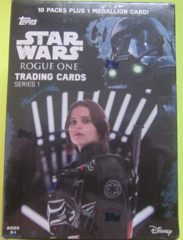 2016 Topps Star Wars Rogue One Series 1 Blaster Box (Sealed)