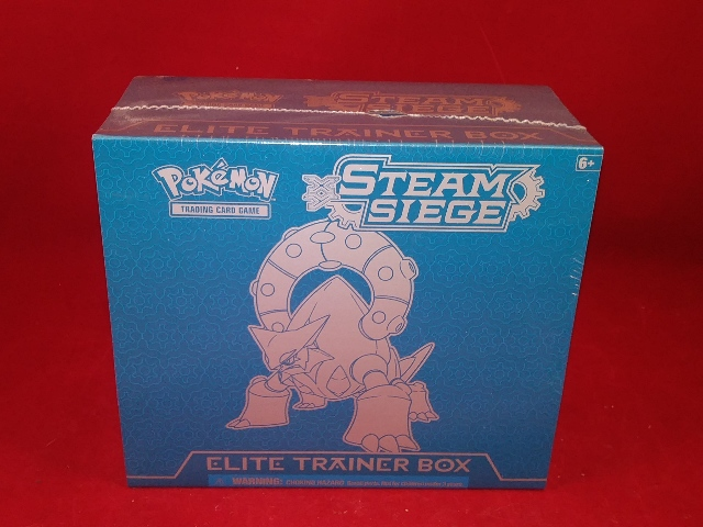 Pokemon TCG XY Steam Siege Elite Trainer Box (Sealed)