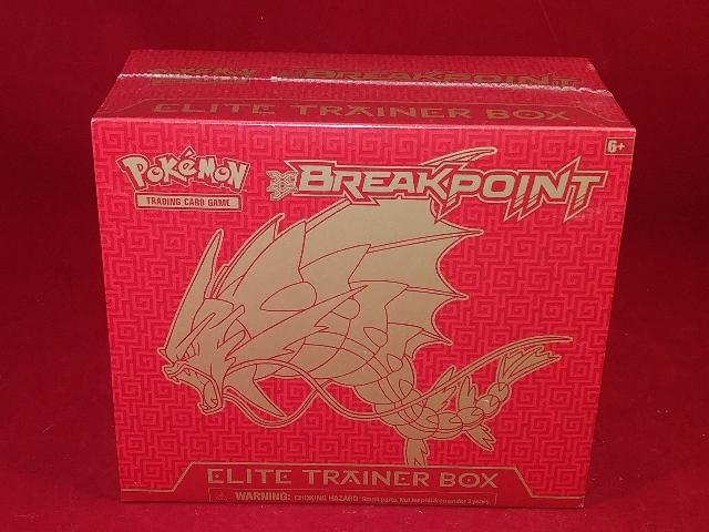 Pokemon TCG XY BREAKPoint Elite Trainer Box (Sealed)