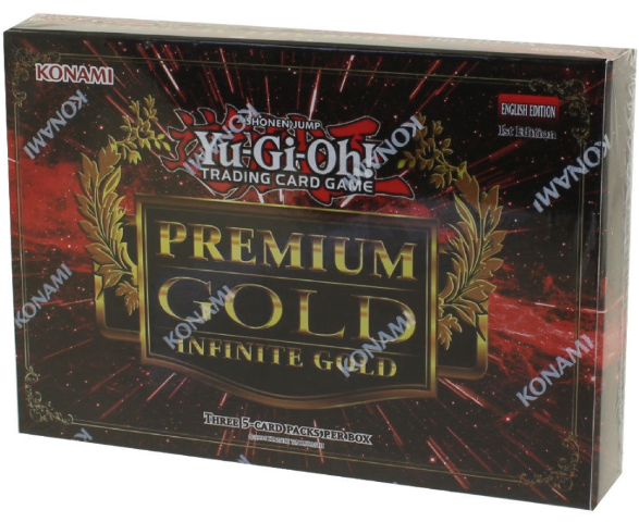 Yugioh Premium Gold Infinite Gold Deck (Sealed)(2016)