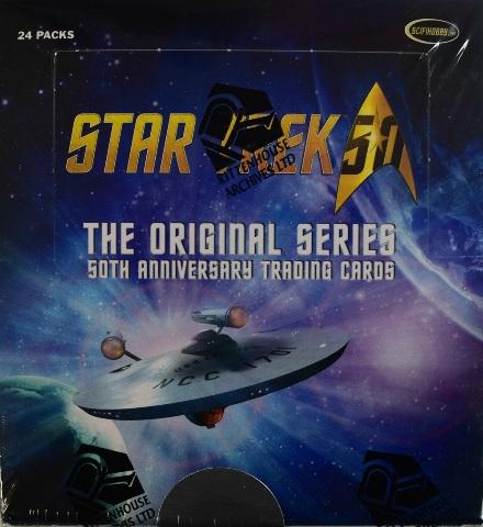 2018 Rittenhouse Star Trek The Original Series 50th Anniversary BOX (Sealed)