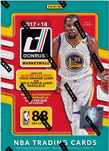 2017/18 Panini Donruss Basketball 11 Pack Blaster Box (Sealed)