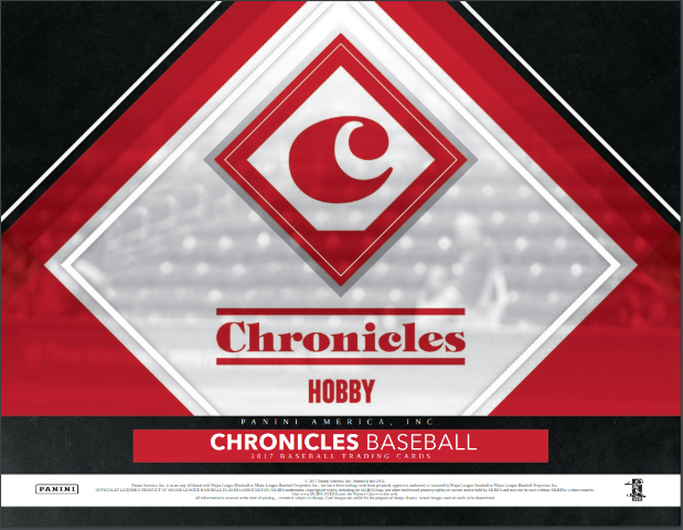 2017 Panini Chronicles Baseball Hobby 12 Pack Box (Factory Sealed)
