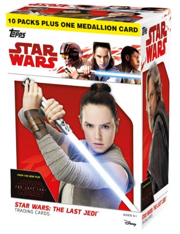 2017 Topps Star Wars: The Last Jedi Blaster Box (Sealed)