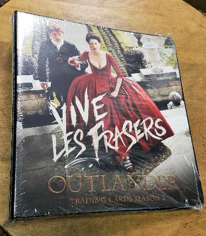 OUTLANDER Season 2 Trading Card Album BINDER Sealed w/Exclusive Card