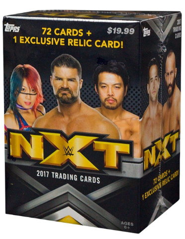 2017 Topps WWE NXT Wrestling Blaster Box (Factory Sealed)