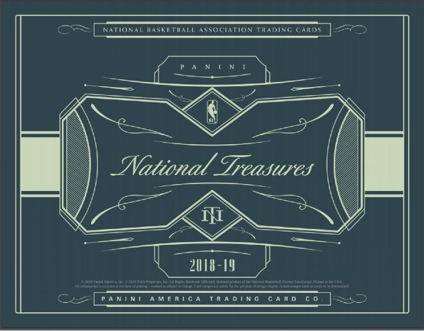 2018/19 Panini National Treasures Basketball Hobby Pack/BOX (Factory Sealed)