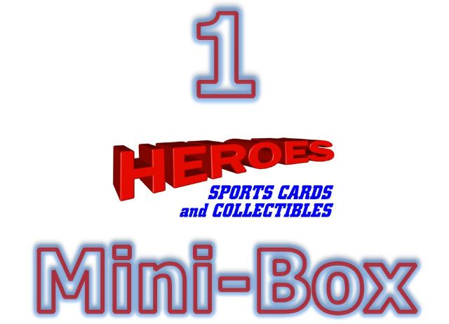 2018 Bowman Chrome Baseball Hobby MINI-BOX (6 Packs)(Sealed-Random)