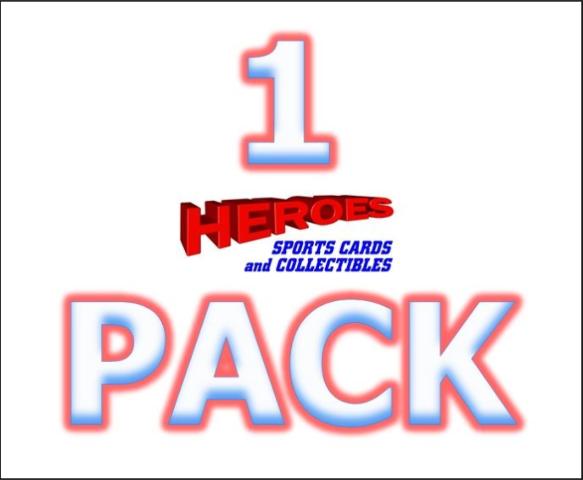 2018 Topps Heritage High Number Edition Baseball Hobby Pack(1 Random Sealed Pack)