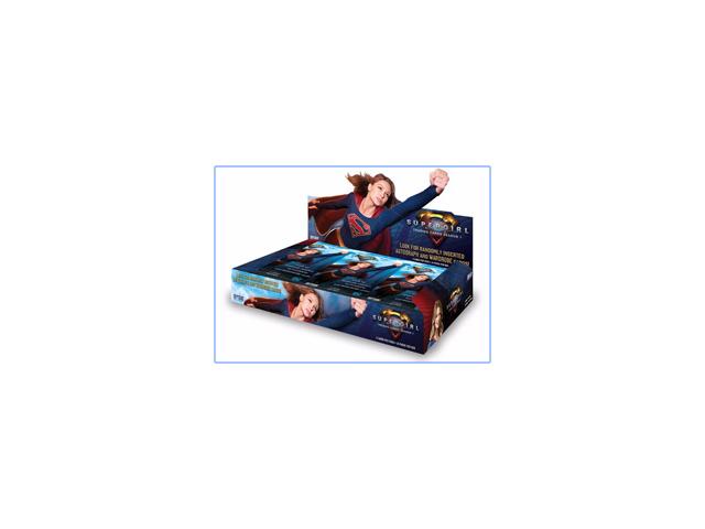 2018 Cryptozoic DC Comics Super Girl Season 1 24 pack Box (Factory Sealed)