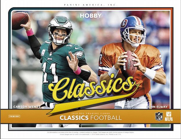 2018 Panini Donruss Classics Football Hobby 14 Pack Box (Sealed)