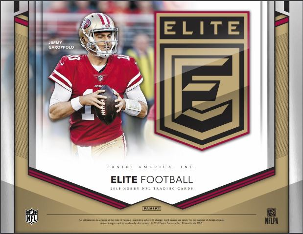 2018 Panini Donruss Elite Football Hobby 20 Pack BOX (Sealed)