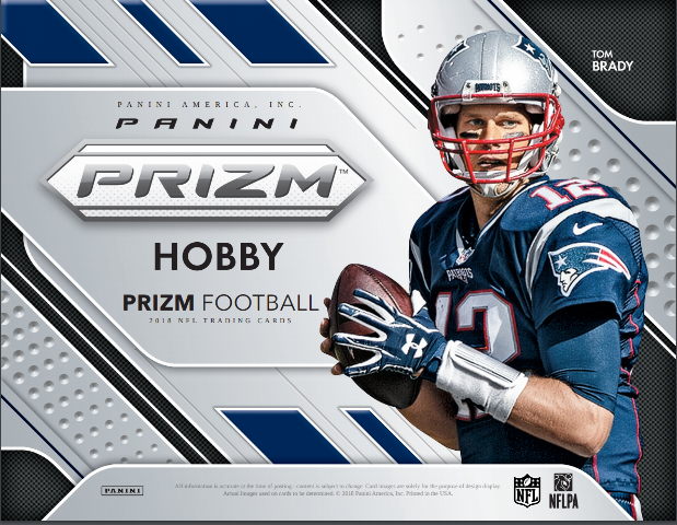 2018 Panini Prizm Football Jumbo Hobby 12 Pack Box (Football Sealed)