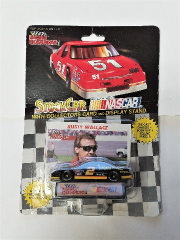 1992 Racing Champions 1:64 #2 Rusty Wallace/Pontiac Excitement NASCAR