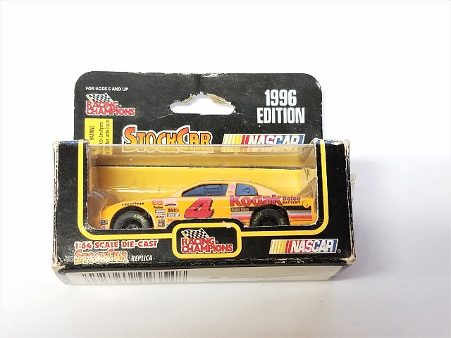 1996 Racing Champions 1:64 Sterling Marlin #4 Kodak Film Diecast Stock Car