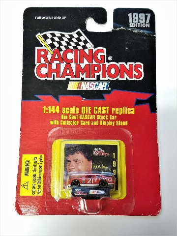 1997 Racing Champions 1:144 #21 Michael Waltrip/Citgo Diecast Car