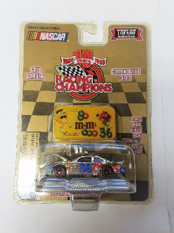 1999 Racing Champions Gold With Medallion 1:64 #36 Ernie Irvan/M&M's NASCAR