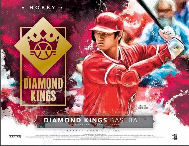 2019 Panini Donruss Diamond Kings Baseball Hobby 12 Pack BOX (Factory Sealed)
