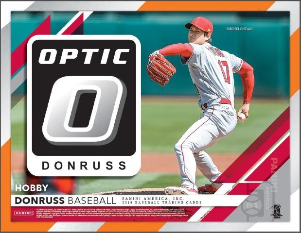 2019 Panini Donruss Optic Baseball Hobby 20 Pack BOX (Factory Sealed)(Random)
