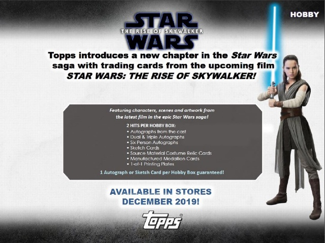 2019 Topps Star Wars Chrome Legacy Hobby 8 Master Box Case (Sealed)