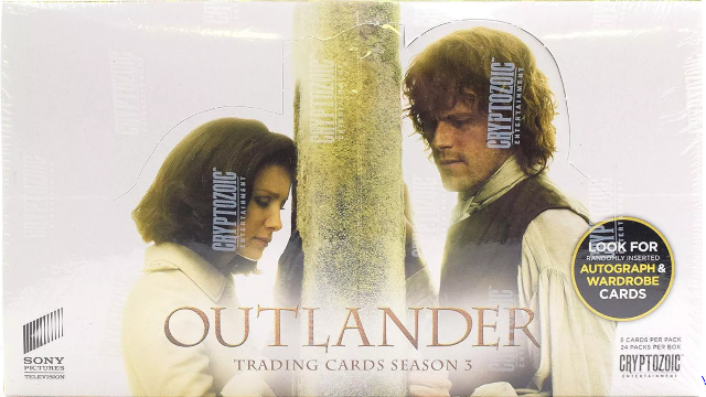 2019 Cryptozoic Season 3 Outlander 24 pack Box (Factory Sealed)