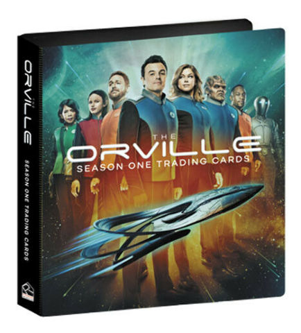 2019 The Orville Season 1 Trading Cards Album Binder w/ Promo Card