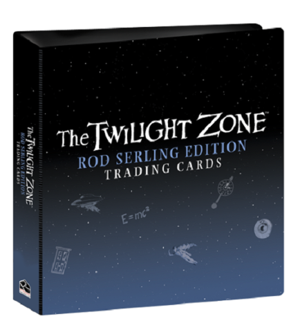 2019 The Twilight Zone Rod Serling Edition Album Binder w/ P3 Promo Card