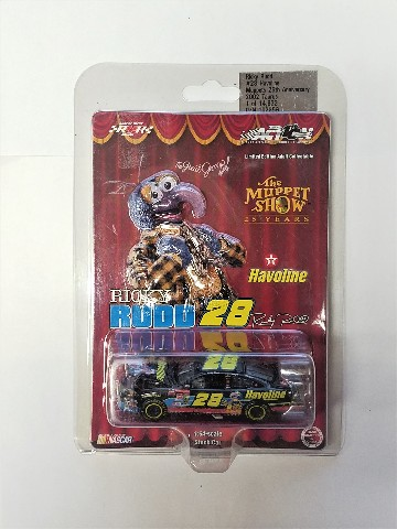 2002 Action Racing 1:64 #28 Ricky Rudd/Havoline Muppets /14832 Gonzo Diecast Car