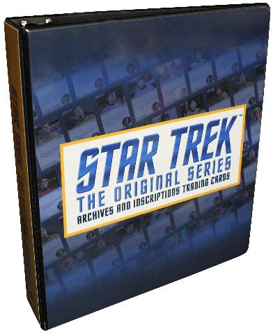 2020 Star Trek The Original Series Archives & Inscriptions Binder w/ Promo Card