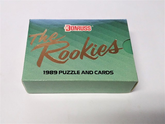 1989 Donruss THE ROOKIES Factory Sealed Set 56 Cards & 1 Puzzle Ken Griffey Jr