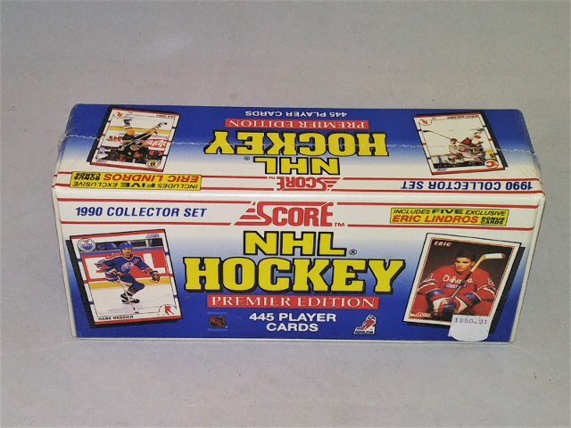 1990-91 Score NHL Hockey Factory Sealed Set Complete 445 Cards Premier Edition