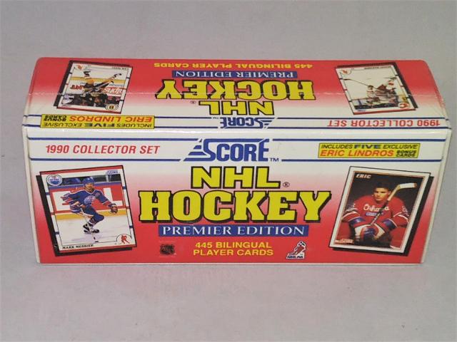 1990-91 Score Hockey Sealed Set 445 Cards Canadian Bilingual Premier Edition