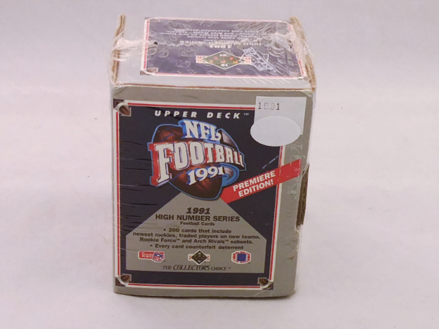 1991 Upper Deck NFL Football High Number Series Factory Set Sealed