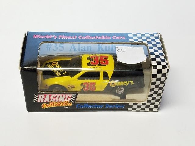 1991 Action/RCCA Legends Oldsmobiles & T-Birds 1:64 #35 Alan Kulwicki/Quincy's