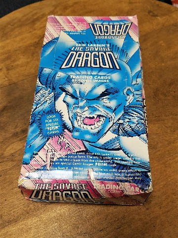 1992 Comic Images Savage Dragon Trading Cards Box 48 Packs