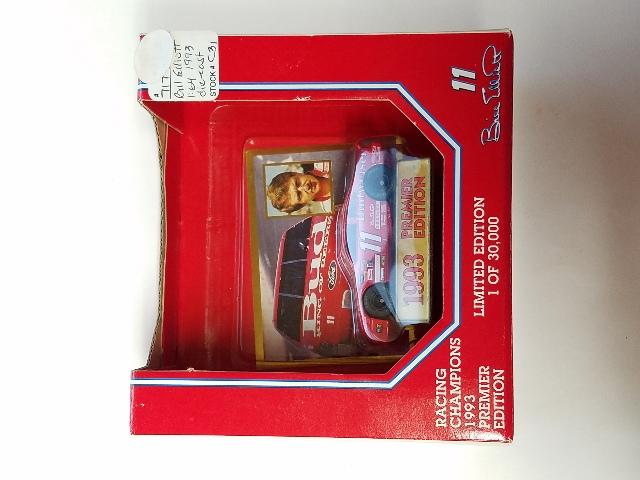 1993 Racing Champions Premier Edition 1:64 #11 Bill Elliott/Bud Budweiser Promo