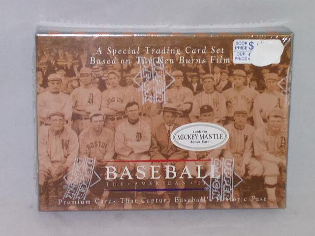 1994 Upper Deck Baseball The American Epic Sealed Box Set Mickey Mantle Bonus