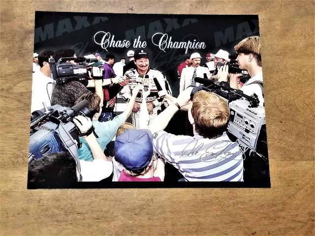 1995 Maxx Chase the Champion #6 Dale Earnhardt Jumbo 8x10 Card