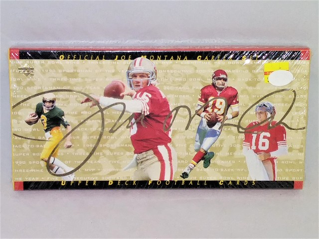 1995 Upper Deck Joe Montana Career Set Factory Sealed Unopened ??? Possible Auto