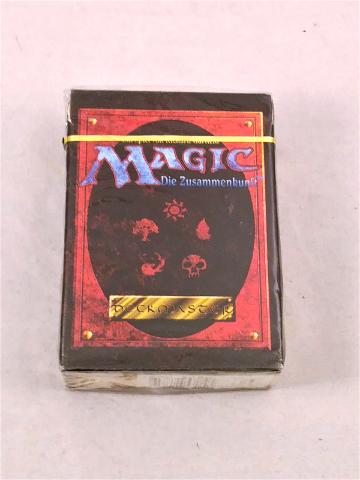 1995 Magic the Gathering MTG 4th Edition Deckmaster Deck German Language