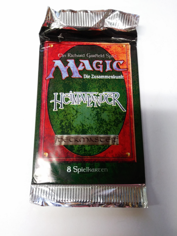 1995 Magic the Gathering MTG Homelands Booster Pack German Heimatlander Sealed