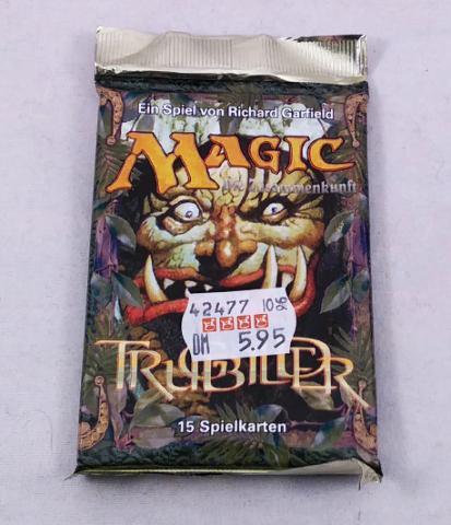 1996 Magic the Gathering MTG Mirage Booster Pack German Language Trugbilder
